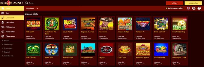 Box24 casino bonus gambling age in mn 2011