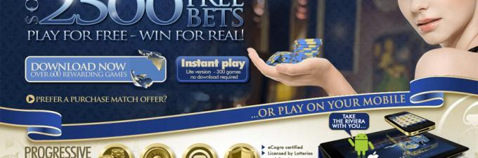 Golden Riviera Casino Online Review With Promotions & Bonuses