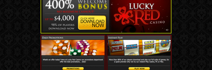 Lucky red mobile casino