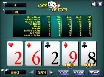Free online video poker jacks or better best live cash game poker book