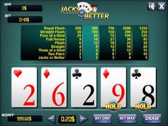 About Our Free Jacks Or Better Video Poker Game