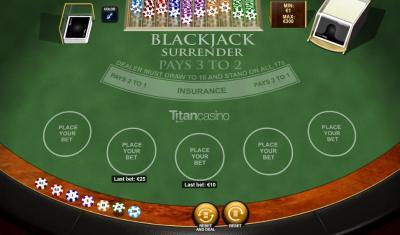 Blackjack true count deviations