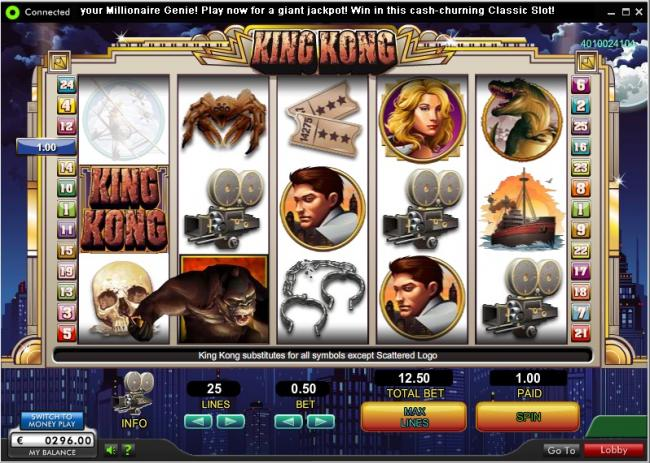 Trucchi slot machine king kong