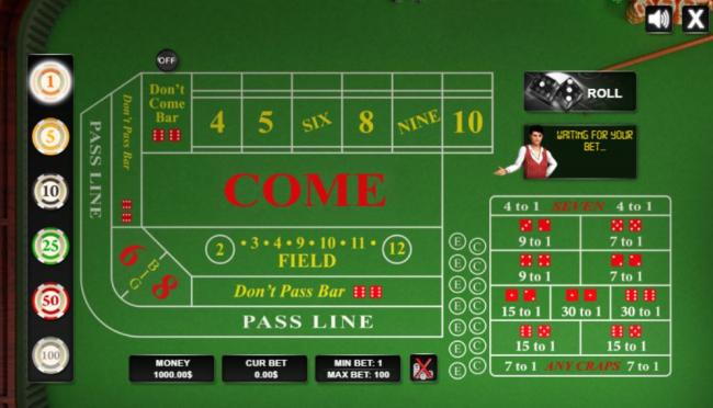 Best online craps for us players