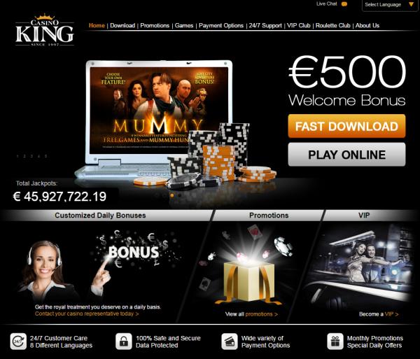 Regular Bonus: €500 First Deposit: €100 First Deposit Match: 100% Minimum Deposit: €20