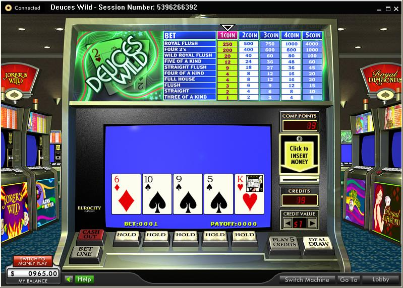 online casino video poker bok ofra