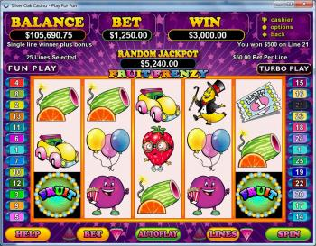 Fruit Frenzy Slot Machine - Play RTG Games for Fun Online